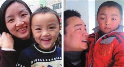 La historia de Peng Gaofeng y su hijo ha sido publicada en numerosos medios. Esta imagen ha sido obtenida de QQ News.
