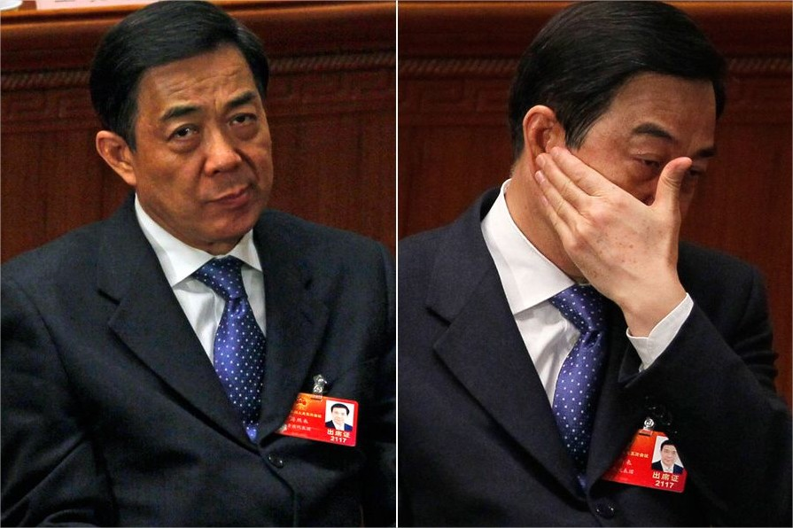 Los portales de Internet chinos llevan todo el día poniendo imágenes de este estilo de Bo Xilai, durante las recientes reuniones que han tenido lugar estos días en Pekín.