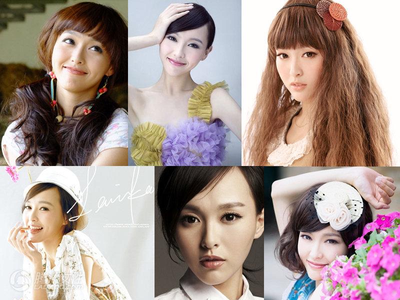 Algunos ejemplos de chinas blancas, ricas y guapas que ofrece el buscador Baidu.